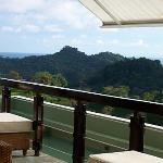 Looking out over Manuel Antonio from La Luna