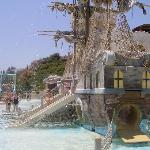 nearby water park feature