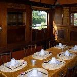 Salle à manger (p.déj) dans le wagon