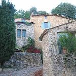 the front of Maison La Roque