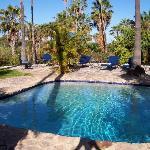 pool at the hacienda