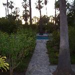 sunset at the hacienda