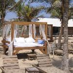 Beach beds Iguana beach