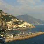 The beautiful town of Amalfi