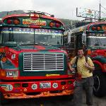 The chicken buses
