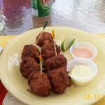 Conch fritters @ RWI