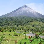 Arenal Volcano View from Room (#102)