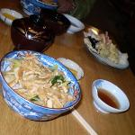 Home-style dinner at the Ryokan