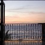 Teil unseres Balkons