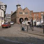 Ross on Wye town centre