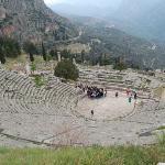 Theatre at the Sanctuary of Apollo, Delphi, Greece