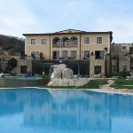 Vista piscina Hotel Adler