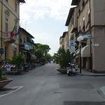 Forte dei Marmi main shopping street