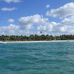 Belle Mare Plage - from speedboat