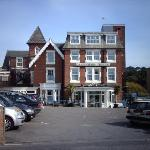Front of Lampeter Hotel