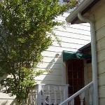 doorway to cottage garden room