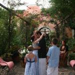 Ceremony in the Central Courtyard