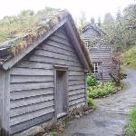 Old buildings on the Astruptunet