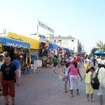 Playa Del Carmen-blocks & blocks of shopping