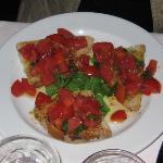 Bruschetta at Quatro Leoni most delicious