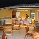 La terrasse bar du 4ième étage