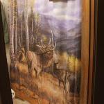 loved the decor - Elk are my fav!