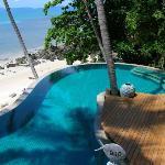 Beach villa #910 pool