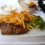 Steak Frites at Les Halles