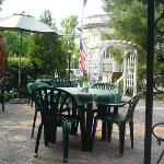 View from General Sutters patio (excellent restaurant in Lititz)