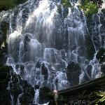 Waterfall at Mt Hood