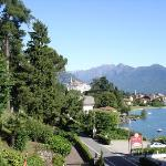 View from bedroom of Baveno town