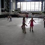 ice rink area