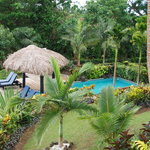 Villa swimming pool and plunge pool