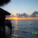 Sunsert from the Sun Deck of Room 719