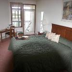 Bedroom of 1-bedroom unit