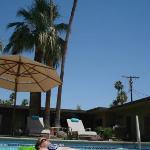 Crystal clear 86Deg. pool