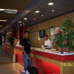 The Reception - Hotel Ibis