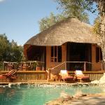 Main lodge / swimming pool