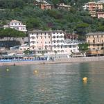 View of hotel from other side of Recco