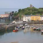 View of the village of Tenby