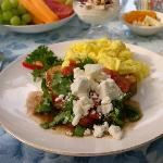 Scrambled Eggs with Summer Salsa