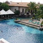 Lovely huge pool - this is only part of it!