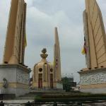 Monument close to Boonsiri