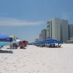 Beach in Destin. Cleanest, prettiest beach I ever saw!