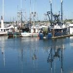 Crescent City Harbor - a 5 minute walk from the Lodge