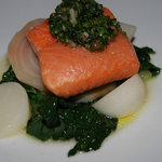 Wild Salmon at Amuse in Ashland, Oregon