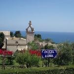 Entrance to Hotel Luna