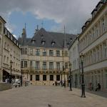 Looking towards the Grand-Ducal Palace