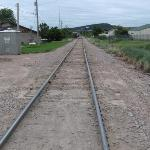 Railroad track adjacent