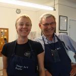 Mr Peck & daughter, proprietors